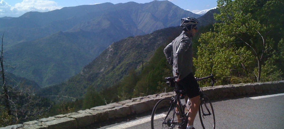 Col du Turini descent with Andy