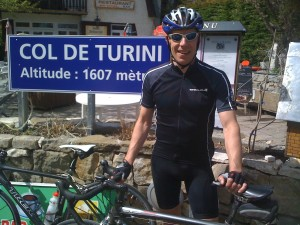 Col de Turini with Andy