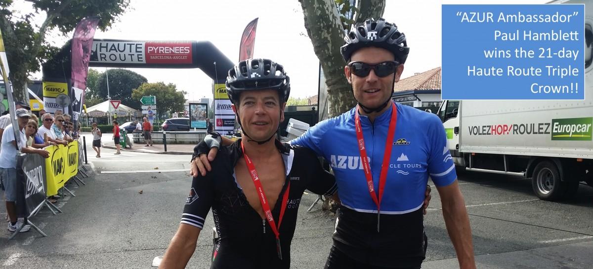 Paul Hamblett wins the Haute Route triple crown!