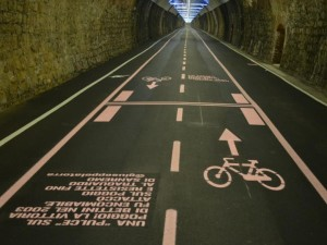 cycle path in san remo