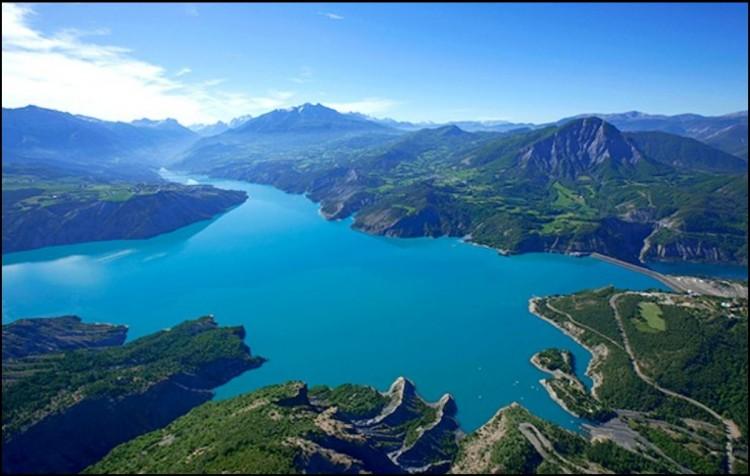 lac du serre-poncon