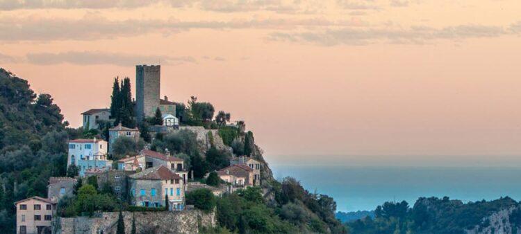 The village perchée of Tourrettes-Levens