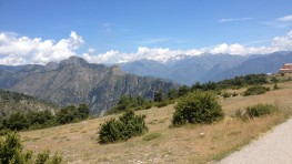 A 360-degree panorama from La Madone d'Utelle