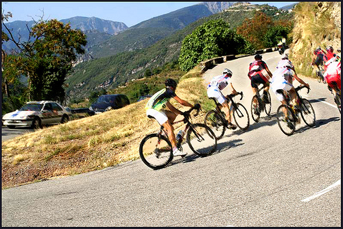 road racing hilly